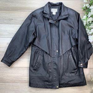 Liz Baker Leather Jacket Size L